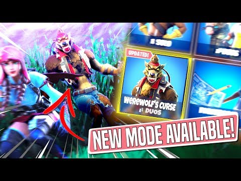 *NEW GAMEMODE* WEREWOLF\'S CURSE Custom Gamemode in *SEASON 6* Fortnite Battle Royal!