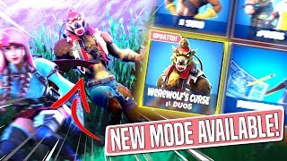 *NEW GAMEMODE* WEREWOLF'S CURSE Custom Gamemode in *SEASON 6* Fortnite Battle Royal!
