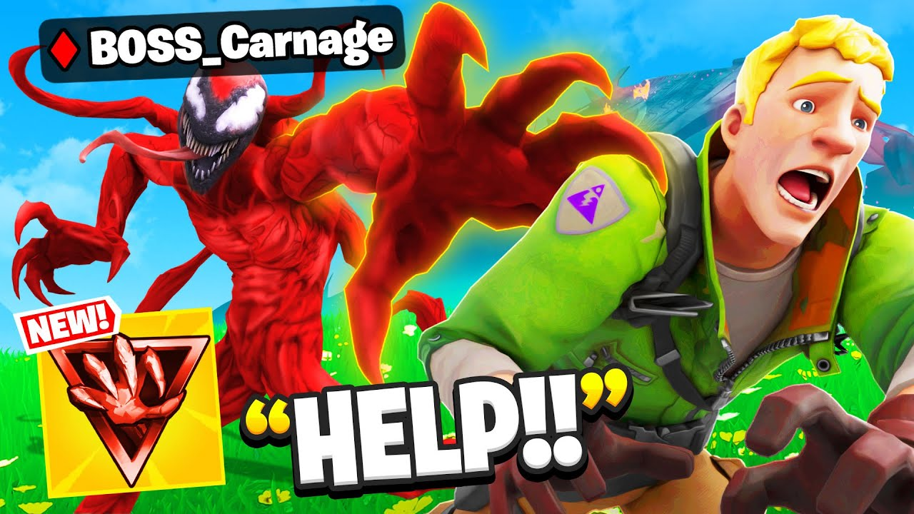 Download I Pretended To Be BOSS Carnage.. (Fortnite Season 8)