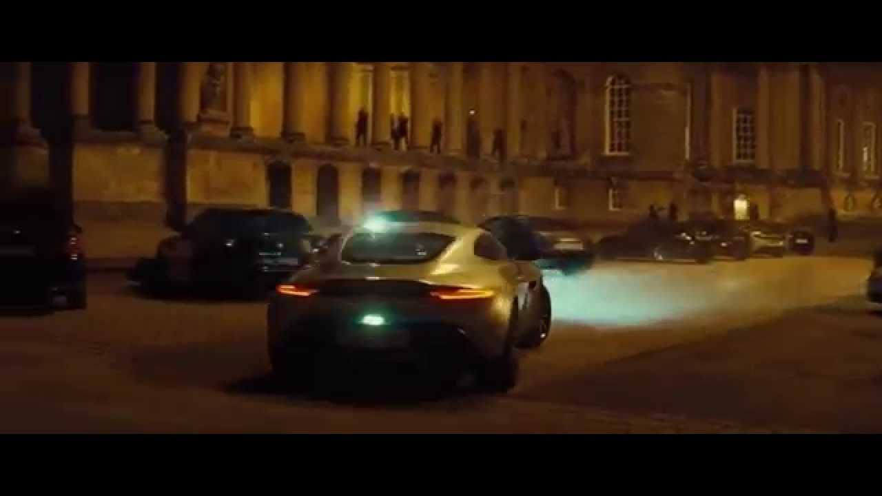 spectre james bond 007 most thrilling car chase pursuit - youtube