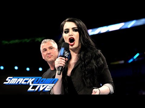 Shane McMahon names Paige the new GM of SmackDown: SmackDown LIVE, April 10, 2018
