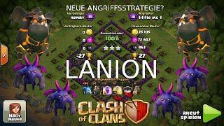 LANION - NEUE ANGRIFFSTAKTIK? - Clash of Clans | little mc t
