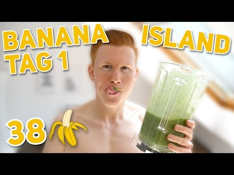 GREEN BANANA ISLAND #1 - 38 BANANEN AN EINEM TAG?! - EIS, SMOOTHIE, SALAT- VEGCEPTION.DE