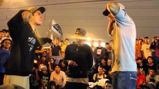 Klibre (Perú) vs Zeta (Venezuela) - Batallas Raptonda 2015 [1ra Ronda]
