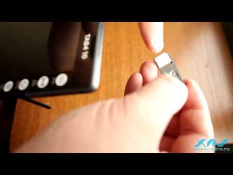 Как вставить карту MicroSD в Lenovo Tab 4 10 (XDRV.RU)