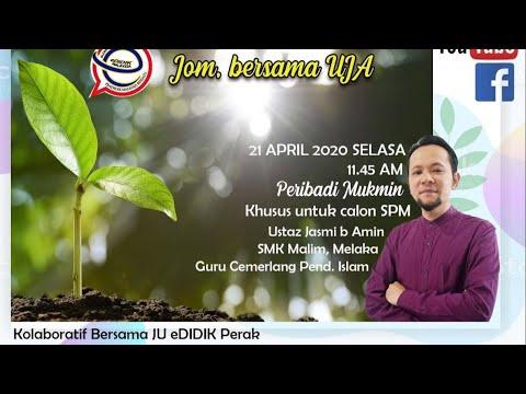 Live Classroom @ Edidik Pendidikan Islam Tingkatan 5 - Peribadi Muslim
