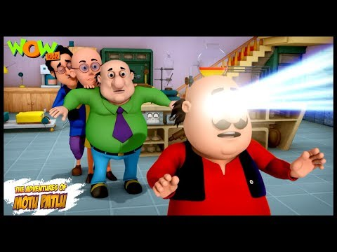 Motu Patlu Cartoons In Hindi   Animated cartoon  Motu eraser  Wow Kidz