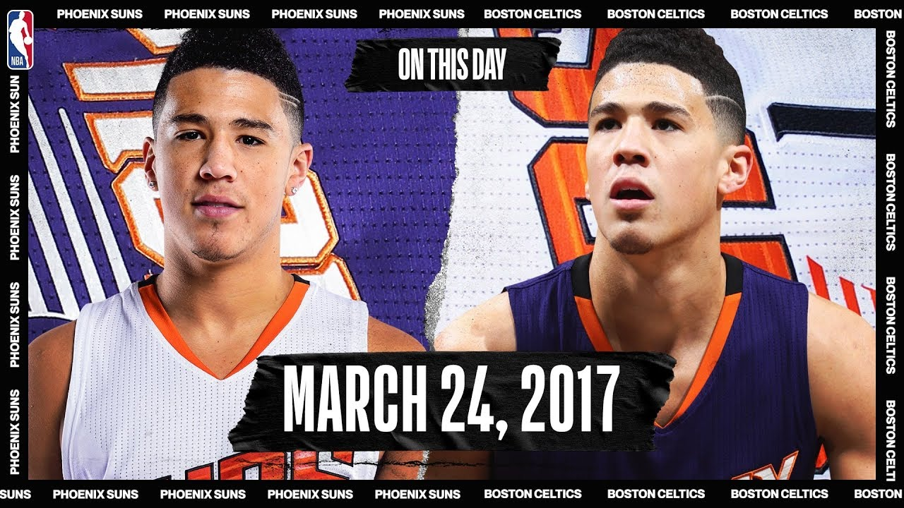 Devin Booker's HISTORIC 70-PT Night | On This Day