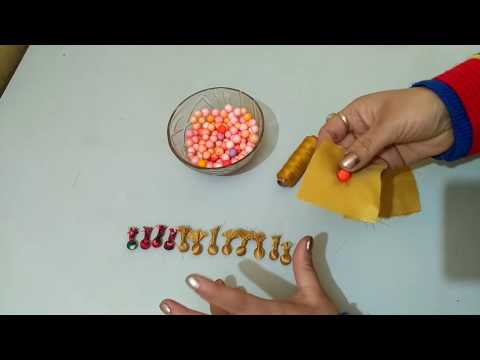 Potli button banane ka tarika/How to make potli button