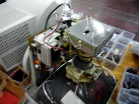 Motore ionico improvvisato al MARC di Genova