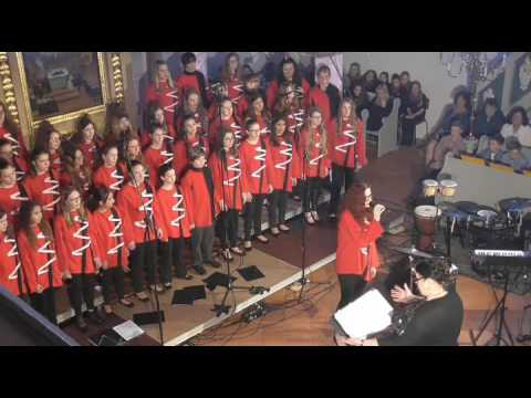 """Wind of Change"", performed by School Choir Mariella Pilsen"