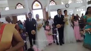 Remarkable Indian Wedding in Kerala: Grooms Twins::  Brides Twins::  Flower Girls Twins::  Page Boys