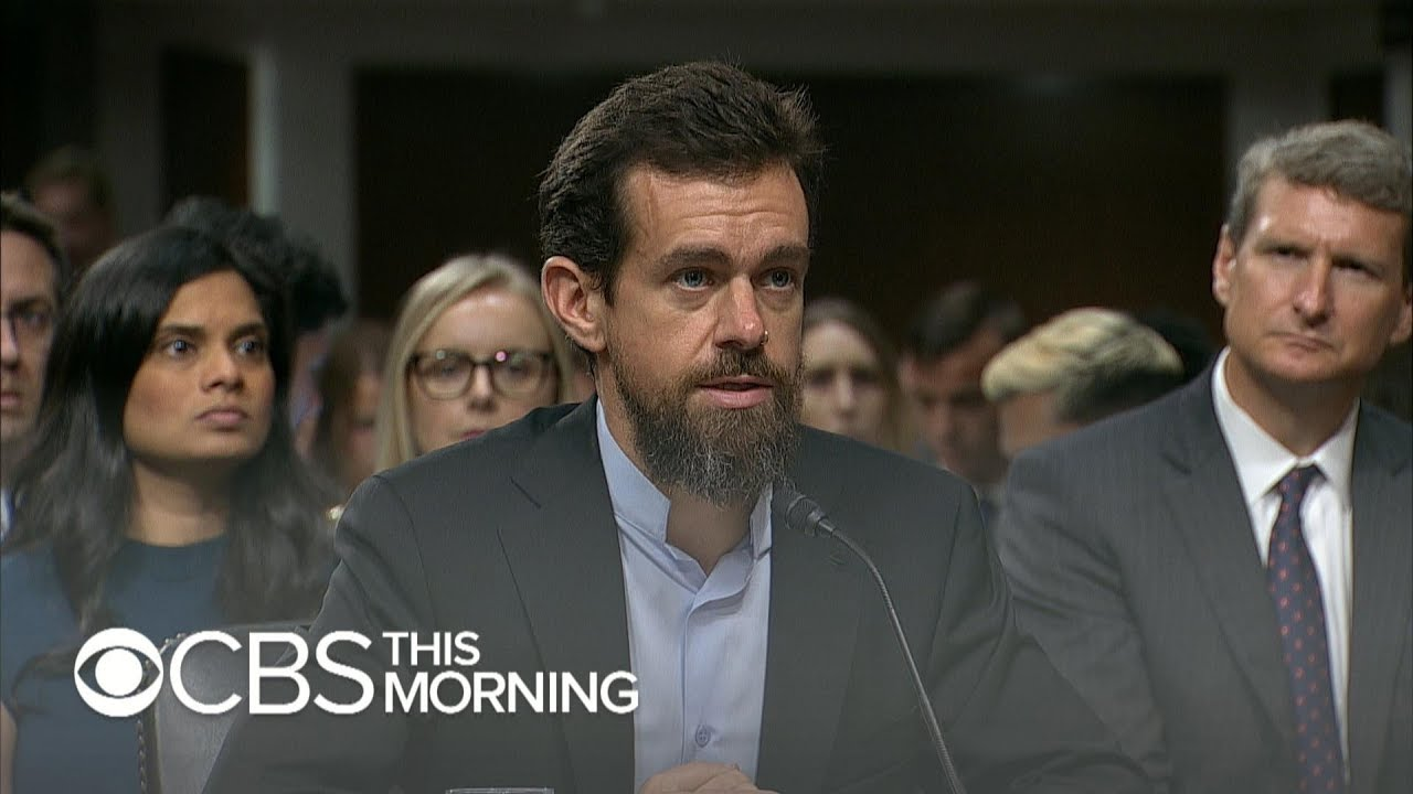 Facebook and Twitter execs questioned on Capitol Hill