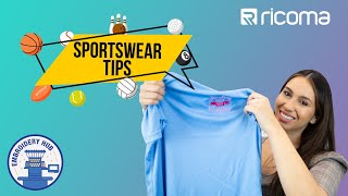How to Embroider Sportswear and Stretchy Polyester Fabric (Embroidery Hub Ep106)