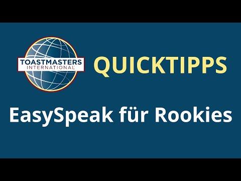 EasySpeak for Rookies - Karlsruher Redeclub