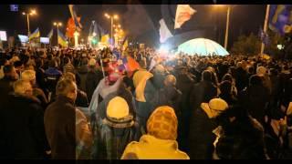 В Запорожье скупают продукты, бензин, снимают деньги и ...  Майдан. (фото)