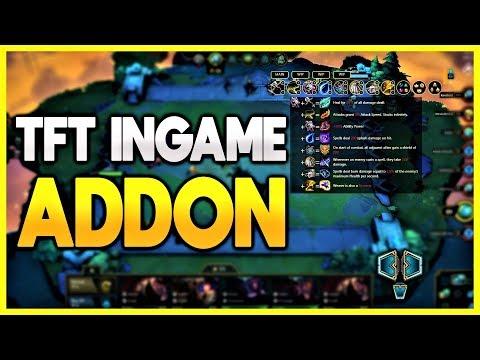 TFT Overlay | Ingame Cheat Sheet Addon/Tool | Teamfight