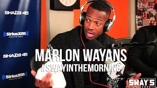 Hilarious Marlon Wayans on