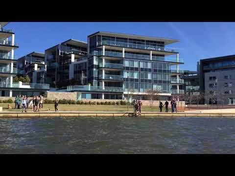 Amphicar Docks In Kingston Lake Burley Griffin Canberra