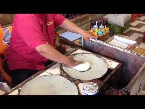 Amazing Street Cook - Regag Bread — Iran - Bandar Abbas