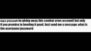free account in combat arms
