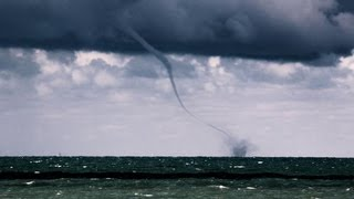 Lake Michigan Waterspout Outbreak! 9/9/2012