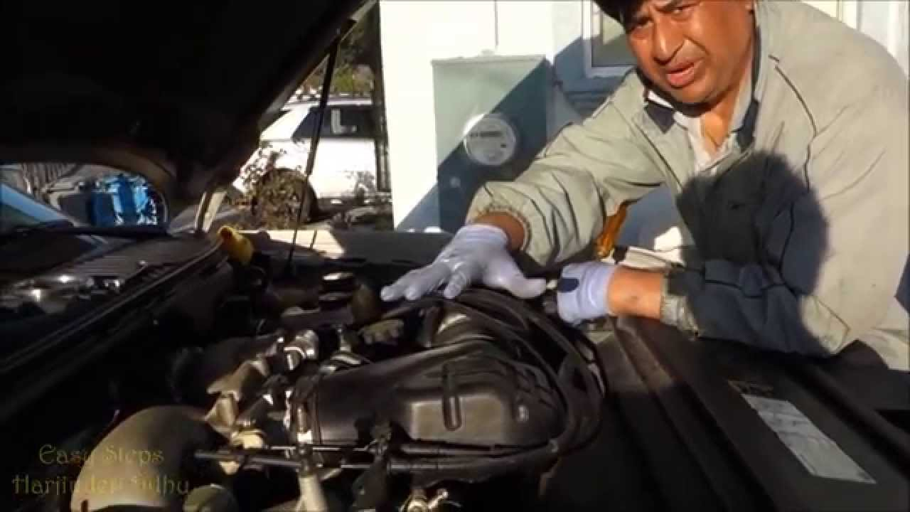 How to Change Engine Oil and Oil Filter on Lincoln ...