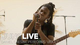 Daniel Caesar Performs 'Violet' on JUNO LIVE | JUNO TV