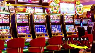 Casino Slots Ambient SOUND - Crowded Room - Sirens - People