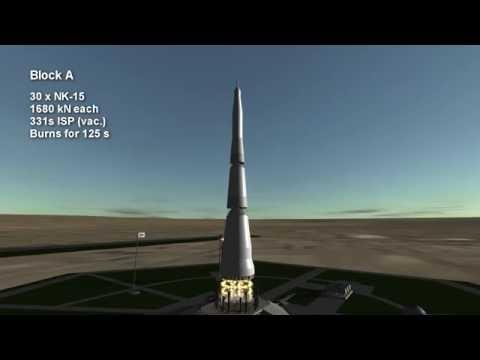 Rocket Profile -  N1