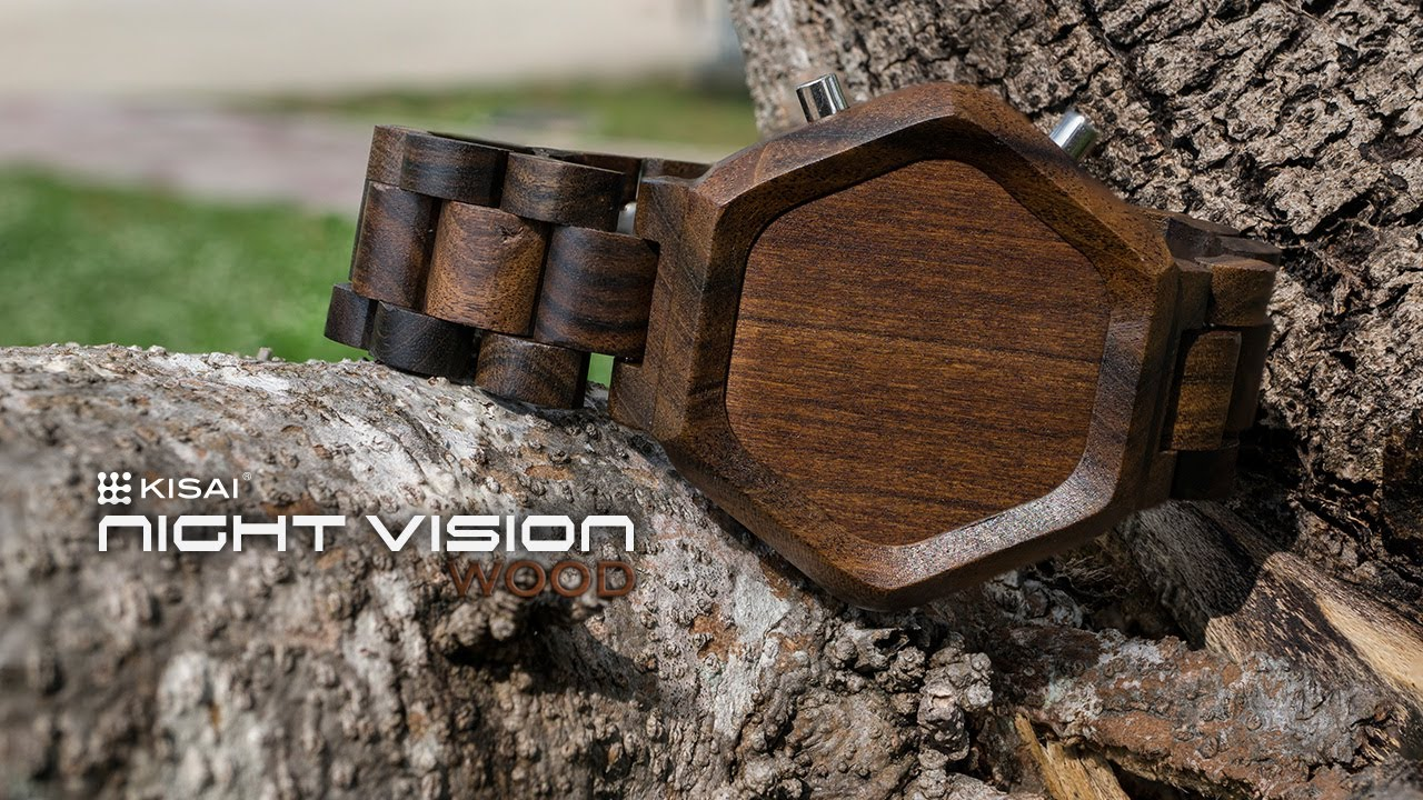 Cool Wood Watches Kisai Night Vision Led Watch Design From Tokyoflash Japan Youtube