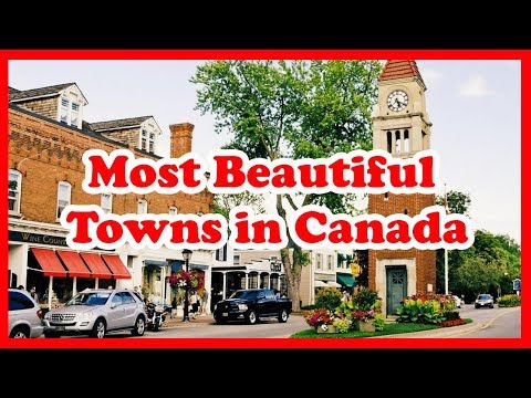 5 Most Beautiful Towns In Canada, North America | Love Is Vacation
