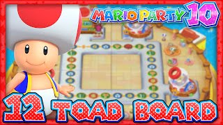 Mario Party 10: Part 12 - Toad Amiibo Board (4 Player)