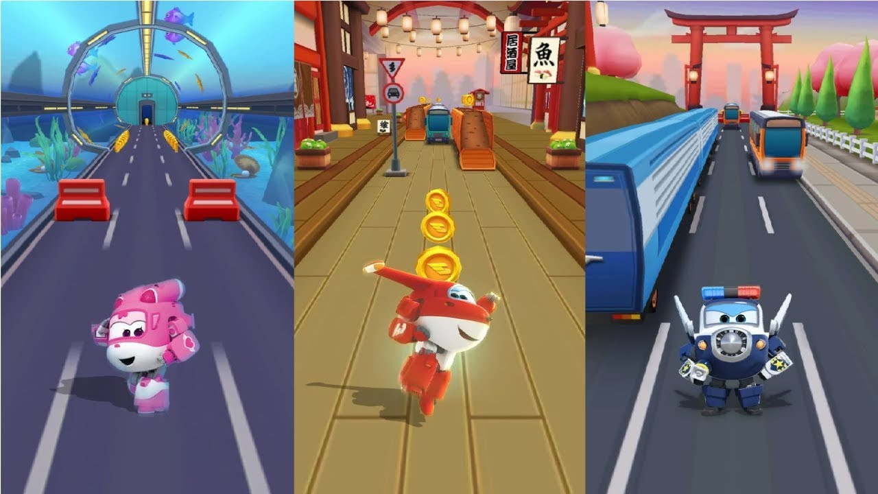 Super Wings : Jett Run Android Gameplay