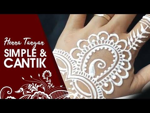 Henna Tatto Simple 5 Belajar Melukis Henna Pemula Whin Henna