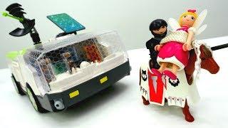 Плэймобиль (PLAYMOBIL) распаковка игрушек 🙌 Игры для детей. Игрушки из мультика #Super4 Спасаем ФЕЮ!