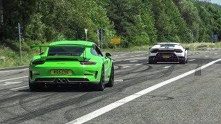 Cars Leaving Nürburgring Tankstelle - SV-J, 780HP Renntech AMG GTR, M3 E46, Ariel Atom, JDM etc!