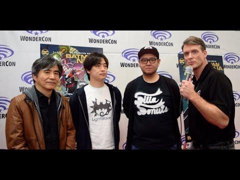Junpei Mizusaki, Kazuki Nakashima, and Takashi Okazaki Interview at Batman Ninja Premiere Mp3