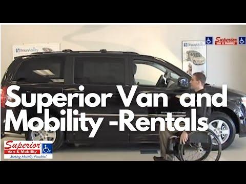Superior Van & Mobility Dodge Entervan Mobility Conversion