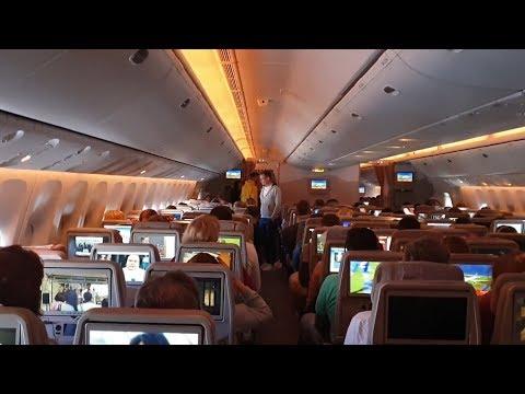 Warsaw-Dubai EMIRATES B777 in Economy  TRIP REPORT 