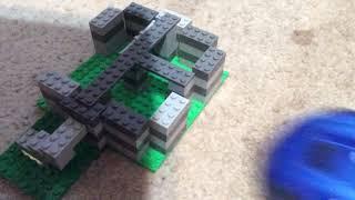 LEGO destruction!