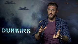 Dunkirk Interview - Tom Hardy