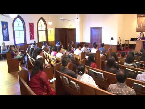 Pastor Ruth Khawm(HIC Sg) @ BCC Maryland, September,18,2016(