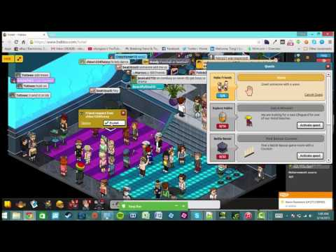Let's Play Habbo Hotel (2001)! Free Avatar Online Chat Room
