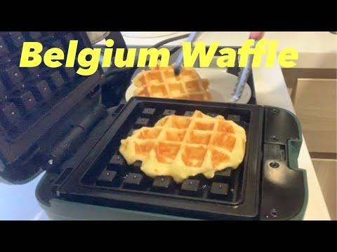 Belgium Waffle | With Waffle Machine