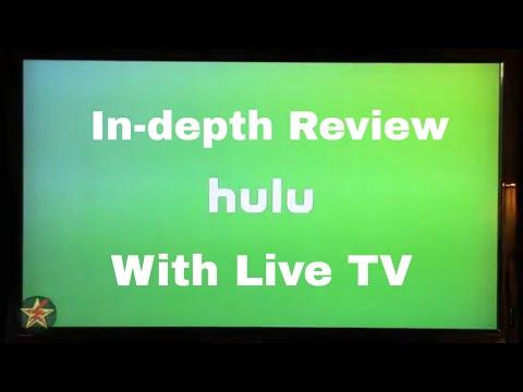 Hulu With Live TV (on Roku) Reivew