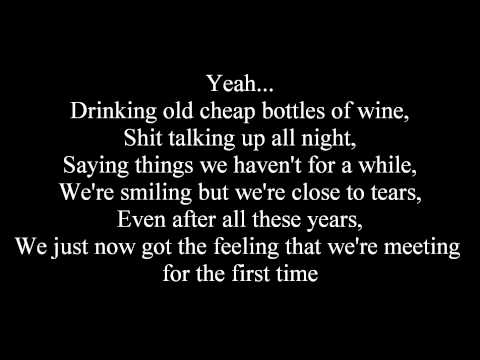 The Script - For The First Time (Lyrics)