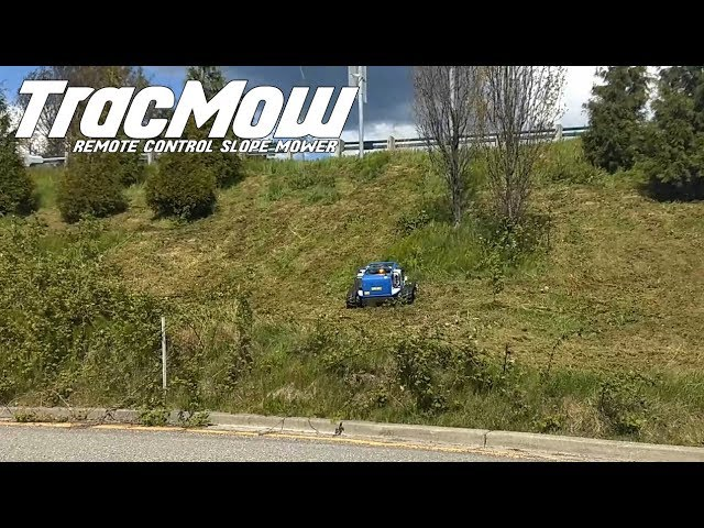 Highway Mowing with TracMow