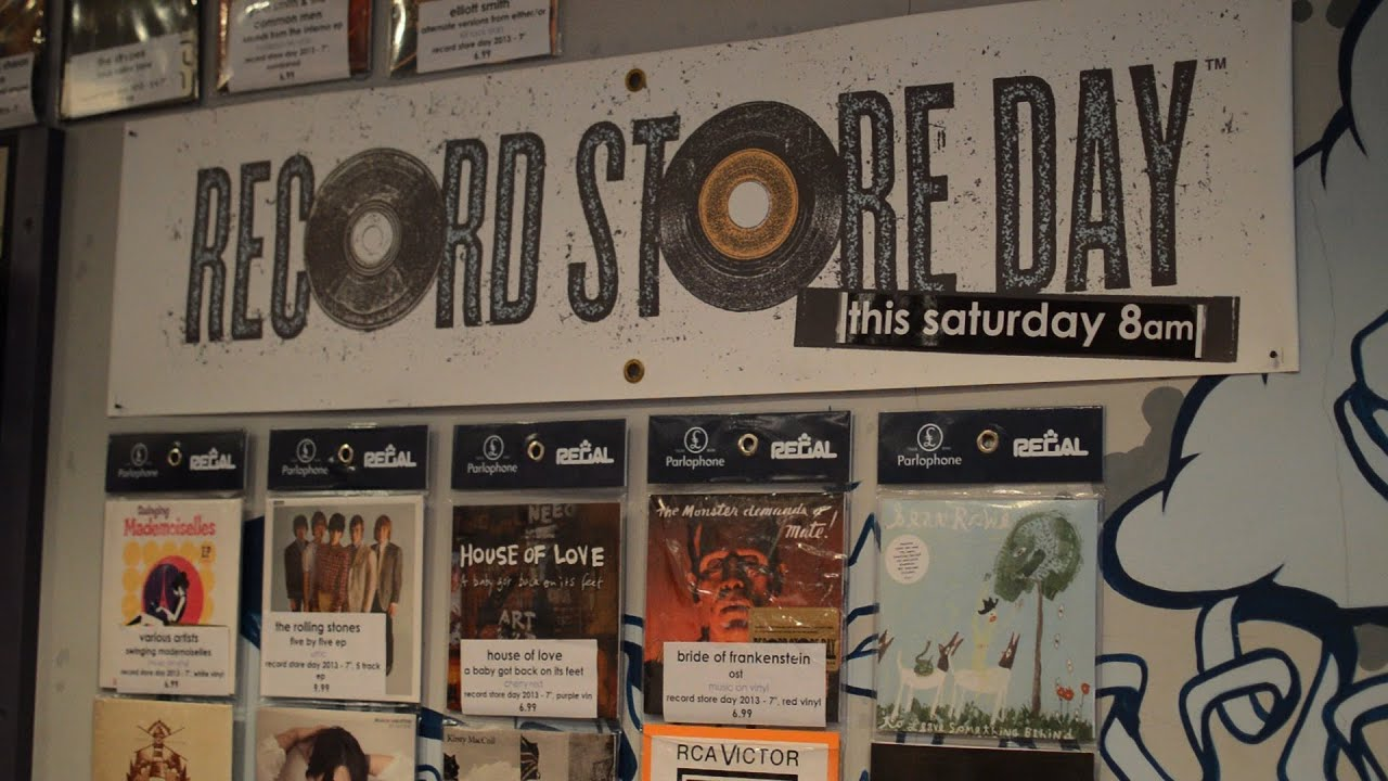 Record Store Day 2013 at Resident, Brighton - YouTube