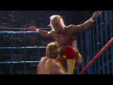 WWF Saturday Night's Main Event 9 January 3 1987 Hulk Hogan vs Paul Orndorff STEEL CAGE MATCH